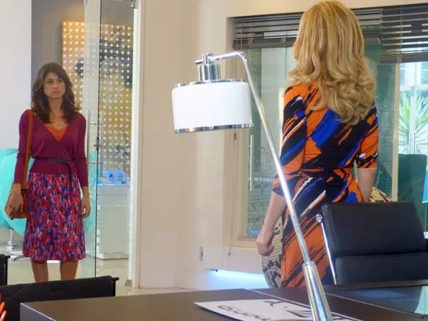 Pamela chama Manu e pede para a gata ficar na Marra  (Foto: Geração Brasil/ TV Globo)