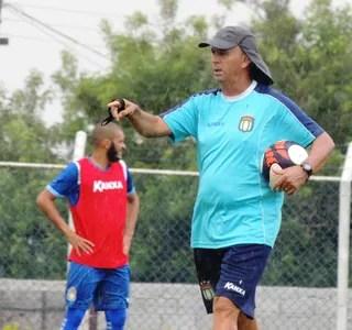 Técnico Luís Carlos Martins, São Caetano, Série A2 (Foto: Fabrício Cortinove / AD São Caetano)