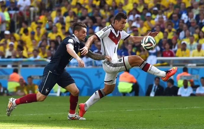Klose Alemanha x França (Foto: Getty Images)