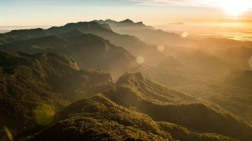 Fotografias da Serra do Mar dão ar de natureza a stand de vendas | Especial  Publicitário - Serra Juvevê | G1