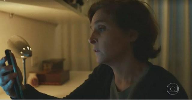 Drica Moraes gravou 'Sob Pressão - Plantão Covid' de casa — Foto: Reprodução/TV Globo