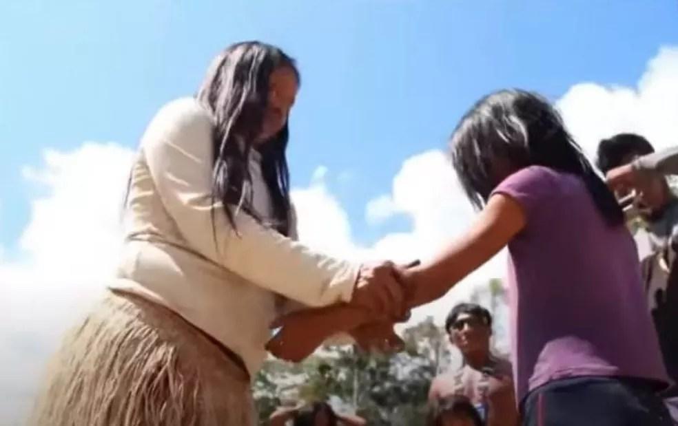 Dia a dia mostra cultura indígena no Acre  — Foto: Reprodução