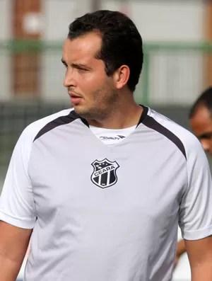Lucas Oaks trabalha no Ceará há cinco anos (Foto: Divulgação/Cearasc.com)