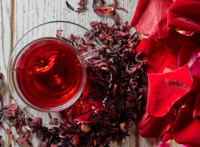 Chá de hibisco (Foto: Thinkstock)