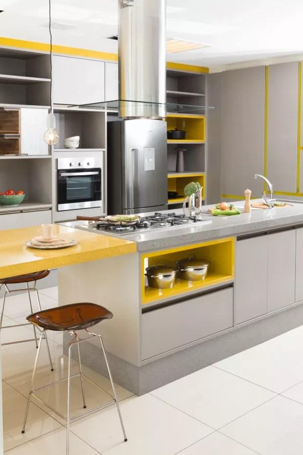 7 cozinhas para se inspirar em 2017  Casa Vogue  Design