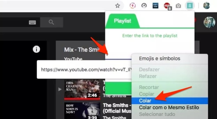 Como escutar playlist do Youtube no Spotify