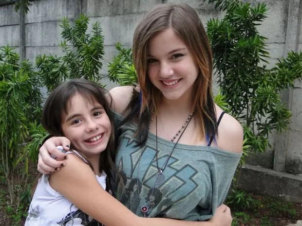 Alice Wegmann e Pietra Pan vão interpretar as irmãs Lia e Tatá (Foto: Malhação / Tv Globo)