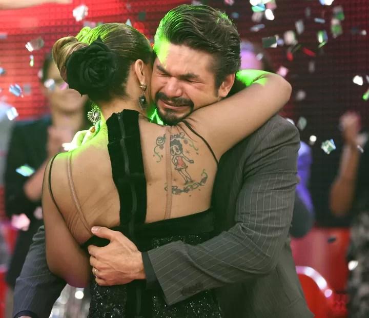 A emoção na hora do resultado (Foto: Carol Caminha/ Gshow)