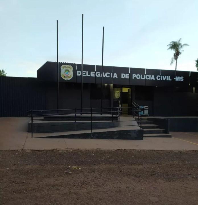 Idosa e suspeito prestaram depoimento em delegacia de MS — Foto: Polícia Civil/Divulgação