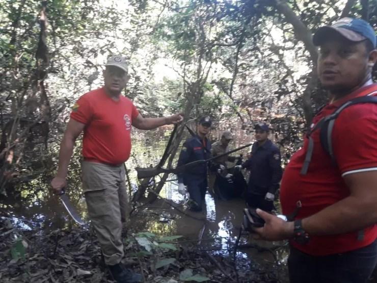 Corpo de Bombeiros do Acre fazia buscas pelo jovem desde a sexta-feira (6) (Foto: Divulgação/Corpo de Bombeiros do Acre)
