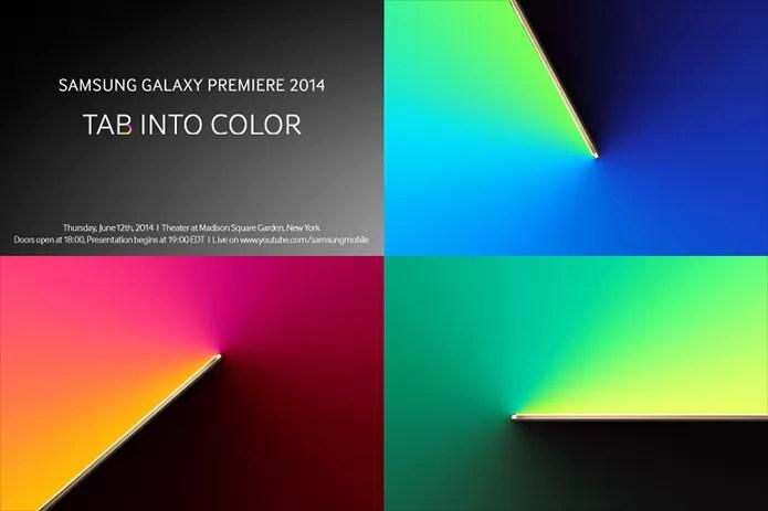 Samsung envia convites para lançamento da nova linha Galaxy Tab. Variantes do S5 também podem ser mostrados (Foto: Reprodução/Samsung Tomorrow)