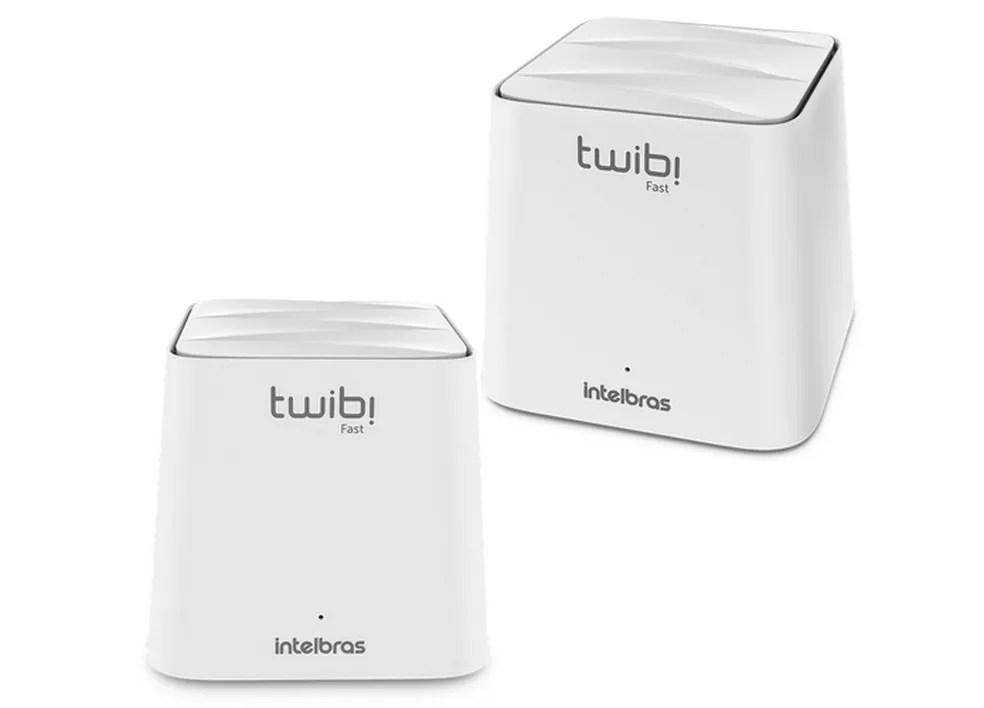 Roteador Mesh Intelbras Twibi Fast suporta até 40 dispositivos conectados simultaneamente — Foto: Divulgação/Intelbras
