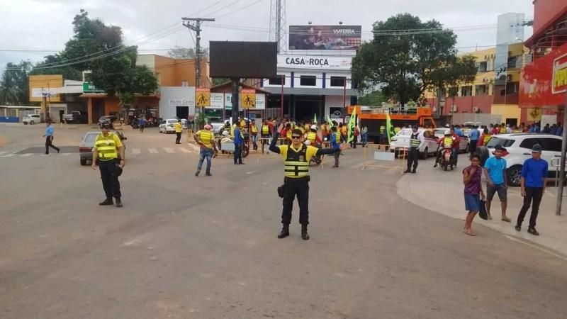 RBTransRBTrans notifica condutores por infrações de trânsito — Foto: Aline Nascimento/Arquivo G1