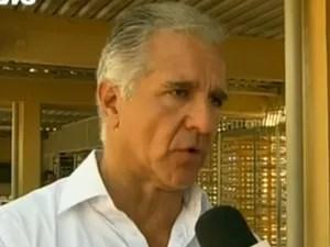 Julio Lopes - secretário estadual de transportes do Rio de Janeiro (Foto: reprodução GloboNews)