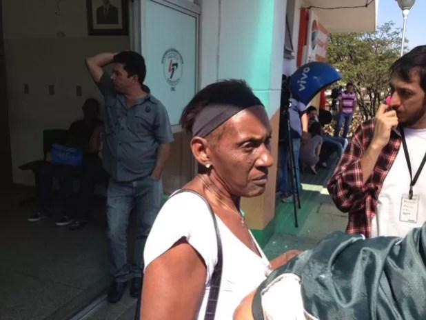 Zilda Maria de Paula disse que o filho morto não tinha antecedentes criminais (Foto: Marcio Pinho/G1)