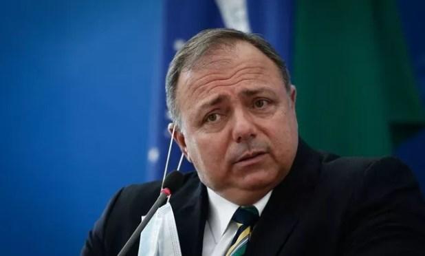 O ex-ministro Eduardo Pazuello: recados do Exército para se apresentar à paisana na CPI