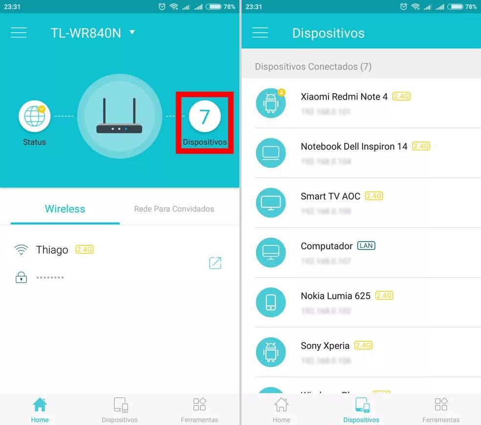 print-3 Como saber quem está usando seu Wi-Fi e bloquear com o app Tether TP-Link