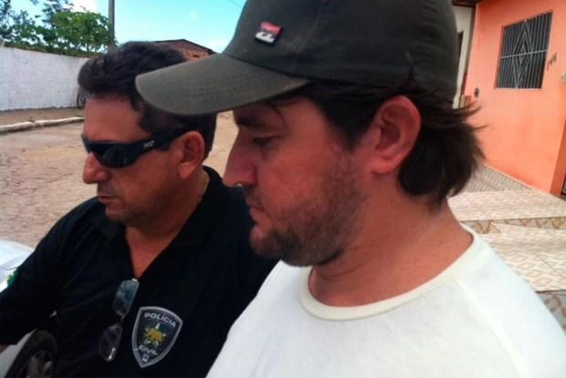 Francisco dos Santos admitiu relacionamento virtual, mas nega ter extorquido empresária (Foto: Igor Jácome/G1)