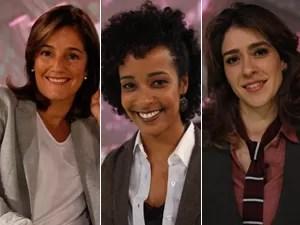 Lília Teles, Aline Prado e Gabriela Lian