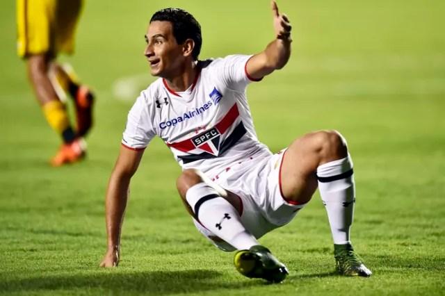 Ganso São Paulo Trujillanos Libertadores (Foto: Marcos Ribolli)