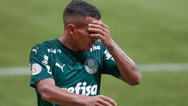 Gabriel Veron em Palmeiras x Bragantino