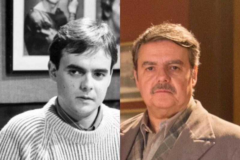 Cássio Gabus Mendes: assim como Gloria Pires, o trabalho mais recente do ator foi no remake de 'Éramos Seis' — Foto: Acervo TV Globo   Estevam Avellar/Globo