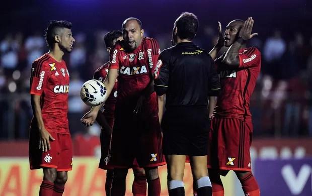 Alecsandro Flamengo x São Paulo (Foto: Marcos Ribolli)