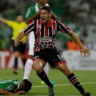 Atletico Nacional x São Paulo Libertadores (Foto: AP)