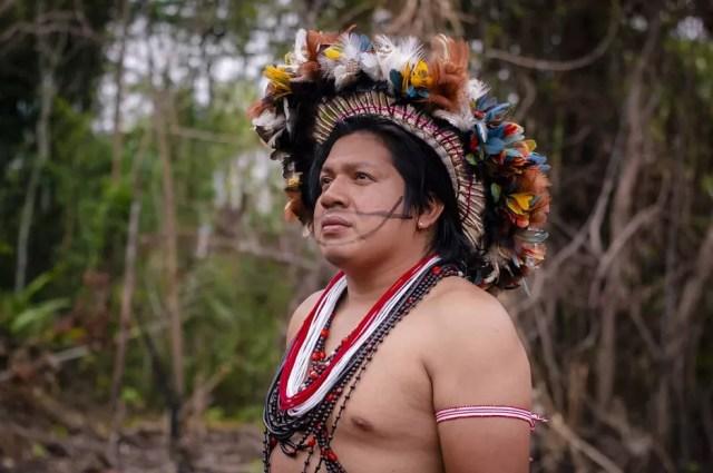 Indígena desenvolve criptomoeda para ajudar na economia de povos tradicionais em RO — Foto: Ubiratan Suruí/Arquivo pessoal