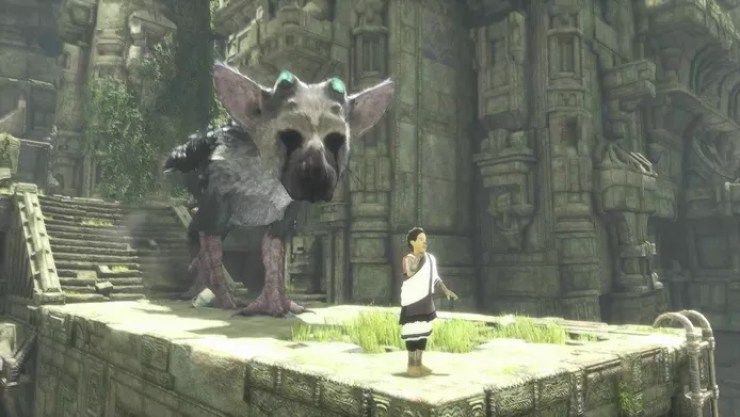 The last guardian Playstation.