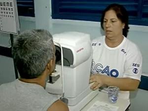 Morador de Brazlândia participa do Ação Global (Foto: TV Globo/Reprodução)