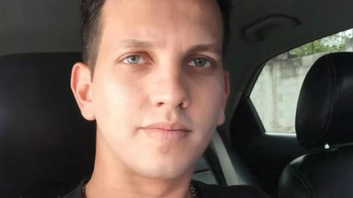 Dyego Fernando Pimentel foi morto na Serra — Foto: Reprodução/ TV Gazeta