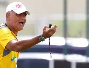 Gaúcho no treino do Vasco (Foto: Ivo Gonzalez / Agencia O Globo)