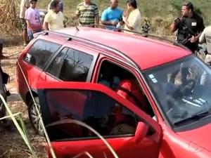 Ex-vereador e taxista são encontrados mortos (Foto: Reprodução/TV Gazeta)