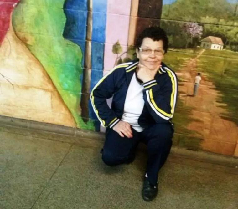 Allice fez supletivo em Catanduva para concluir a escola  — Foto: Arquivo Pessoal