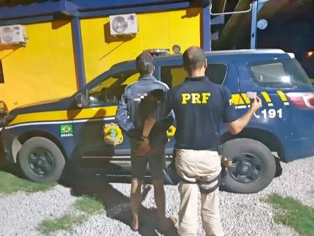 Motorista informou que comprou rebite em posto de combustível na Bahia — Foto: Divulgação/ PRF