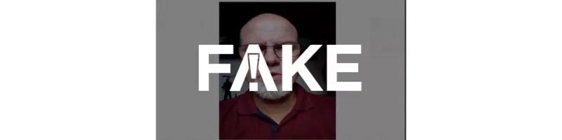 É #FAKE mensagem em vídeo que diz que álcool gel não funciona como forma de prevenção contra o coronavírus