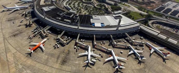 olimpíadas aeroporto galeão (Foto: Reprodução Ministério do Esporte)