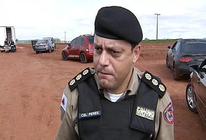 Comandante da 5ª RPM alerta população para ter cuidados com informações recebidas em redes sociais (Foto: Reprodução/TV Integração)