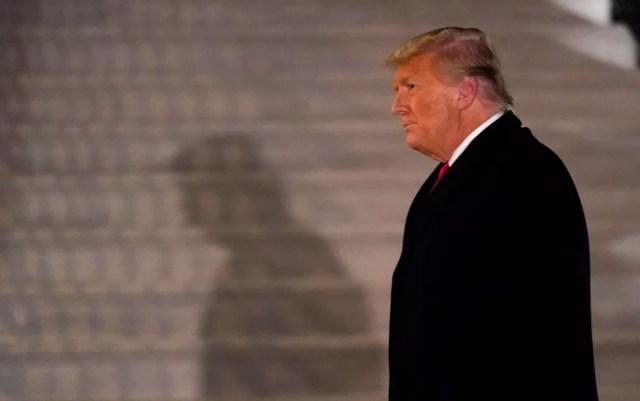 O presidente dos EUA, Donald Trump — Foto: Gerald Herbert/AP Photo