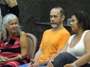 Trio é acusado de crimes de canibalismo (Foto: Luna Markman/ G1)