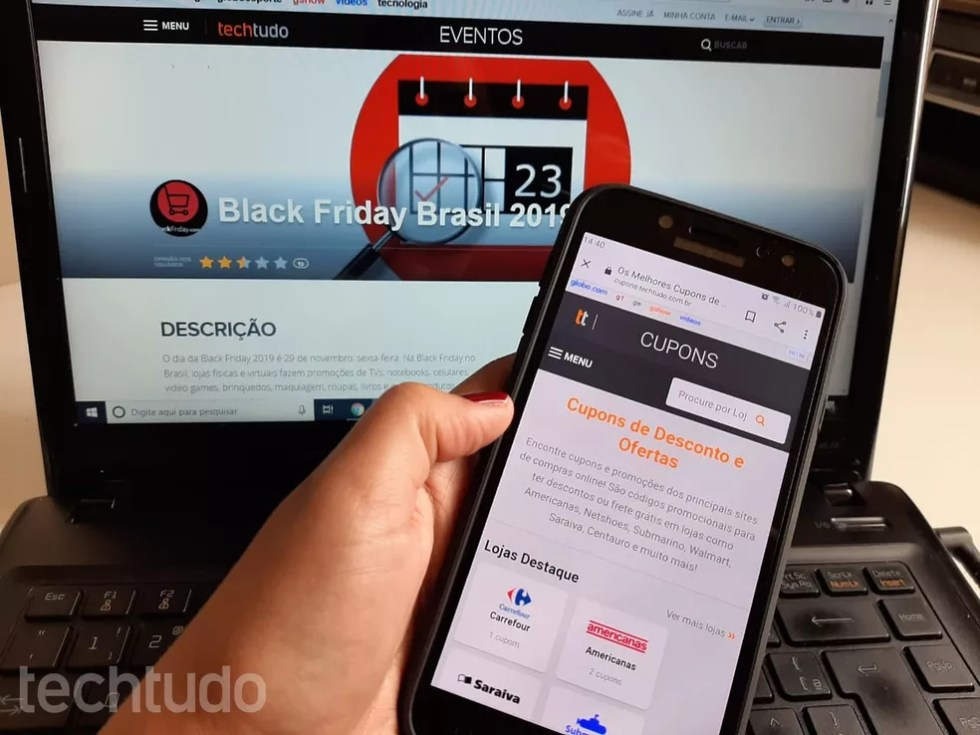 Black Friday 2019: dicas ajudam consumidores a economizar dinheiro em compras — Foto: Lívia Dâmaso/TechTudo