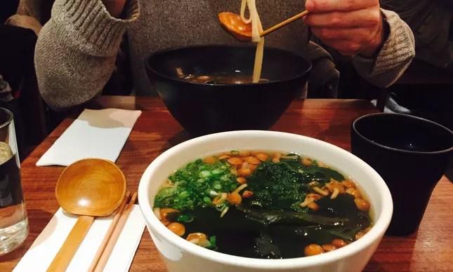 Udon Soup - cogumelos