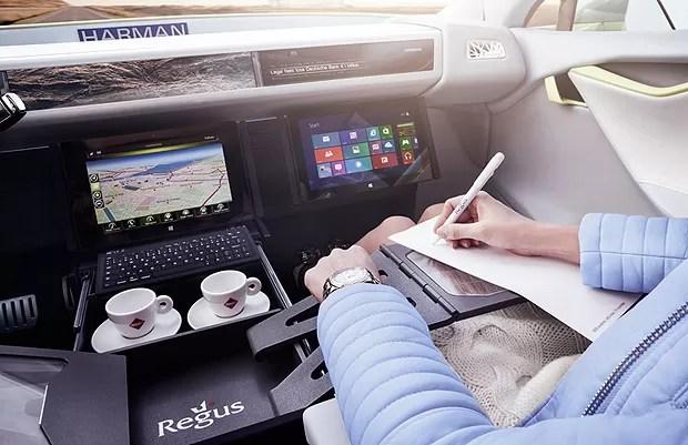 Voltado para executivos, o carro é prefeito para trabalhar (Foto: Divulgação)