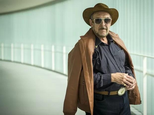 Luiz Carlos Miele como o personagem milionário Jack Parker, da novela  'G3R4ÇÃO BR4S1L' (Foto: João Cotta/Rede Globo/Arquivo)