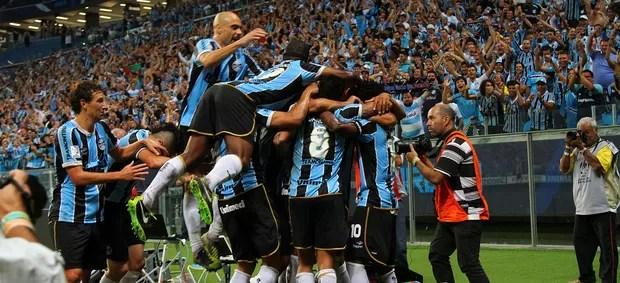 grêmio caracas arena libertadores gol werley (Foto: Lucas Uebel/Grêmio FBPA)