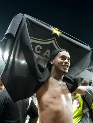 Ronaldinho Gaúcho Atlético-MG final (Foto: Agência Estado)