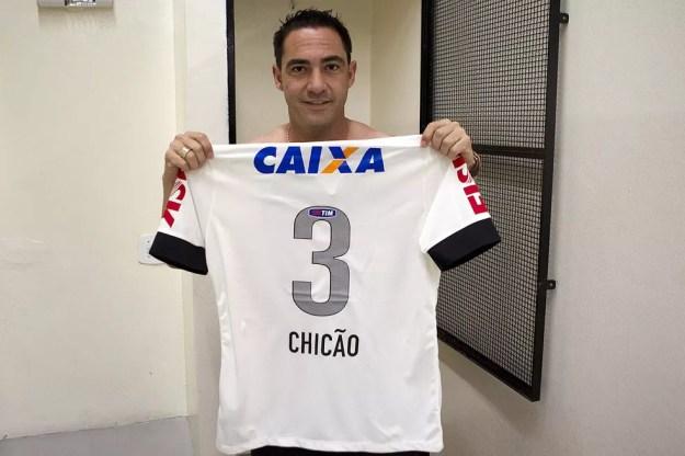Chicão ganhou oito títulos pelo Corinthians (Foto: Daniel Augusto Jr/Ag. Corinthians)
