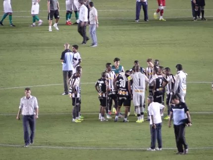 Vagner Mancini jogo Botafogo x Figueirense (Foto: Sofia Miranda)
