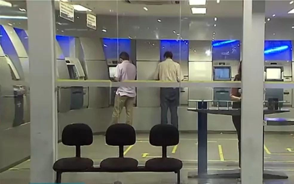 Bancos fecham em João Pessoa neste feriado de 7 de setembro — Foto: Reprodução/TV Cabo Branco